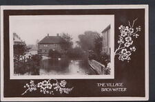 Unknown Location Postcard - The Village Back-Water    RS5196