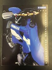 Vintage Yamaha 1999 YZ 125 250 Accessories & Apparel Brochure **FREE SHIPPING!**