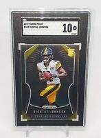 2019 Prizm Diontae Johnson #352 RC Rookie Steelers SGC 10 Gem Mint Comp PSA