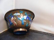 antique  CHINESE ENAMEL BOWL VASE  chinese mark
