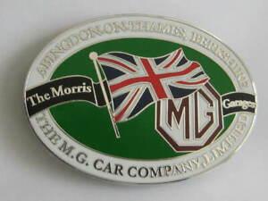 MG  CAR  BADGE. MGB, MGB GT, MGC, MGA, RV8,  MGF , MAGNETTE, TF,  VA, SR, SV,