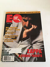 EQ MAGAZINE MARCH 1994 *FRANK ZAPPA * NIRVANA * RECORDING VINTAGE ISSUE RARE