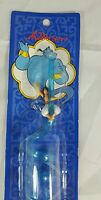 Vintage Applause Aladdin Drinking Fun Silly Twirled Straw Blue Stocking Stuffer