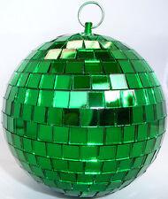 grün 10cm Spiegelkugel Disco-Kugel Disko-Kugel DJ Deko Effekt-Licht Party-Licht
