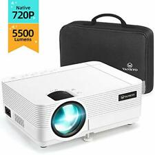 VANKYO Leisure 470C Native 720P Projector, Full HD 1080P Supported and 250''