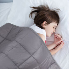Weighted Blanket Perfect For Kids,Easily Into Deep Sleep15lbs for 150lbs
