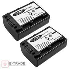 2pcs 1250mAh 7.2V -- Li-ion Battery Pack NP-FV50 for Sony Handycam XR520V Camera