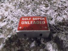GULF OIL SUPER UNLEADED SIGN
