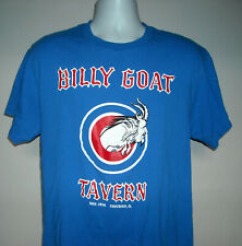 Billy Goat Tavern Curse is History Chicago Cheezborger T Shirt Mens Large