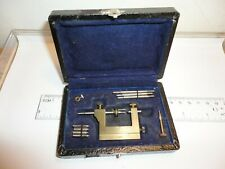 Vintage Watchmaker's Repivoting Drilling Tool FRANCE