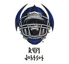 "BLIND / HERITAGE ""Jock Skull"" Skateboard Sticker 15cm RUDY JOHNSON Camper Per"