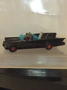 (267) CORGI  BATMOBILE  with original Batman figure produced 1967-69