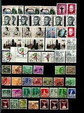 Berlin Lagerbuch gest. 50er - 80er Jahre, ca. 1700 Marken