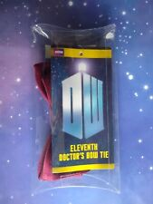 11TH DOCTOR WHO RED BOW TIE COSPLAY ELEVENTH DR REPLICA PROP 1:1 ABBYSHOT