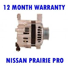 NISSAN PRAIRIE PRO 2.4 MPV 1992 1993 1994 REMANUFACTURED ALTERNATOR