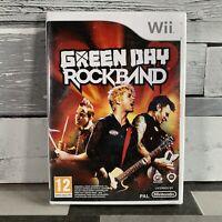 Rockband: Green Day Nintendo WII Video Game Original UK Release New & Sealed