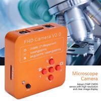 21MP 1080P 60FPS HDMI USB Industrial Video Microscope Digital Camera C-Mount