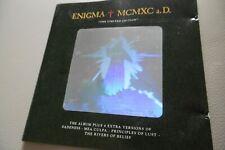 Enigma Mcmxc A. Rare Hologramme Version Ltd Edition CD Album 1991 Virgin 262029