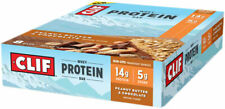 Clif Bar Whey Protein Bar: Peanut Butter Chocolate, Box of 8