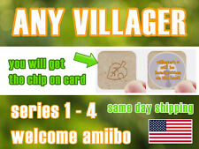 any animal crossing amiibo cards nfc coin marshal lucky stitches ankha whitney