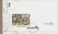 CANADA #2003 $1.25 JEAN-PAUL RIOPELLE SOUVENIR SHEET FIRST DAY COVER