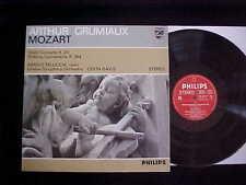 Philips 835 256 LY Mozart: Sinfonia Concertante K. 364/K 211. Grumiaux/Pelliccia