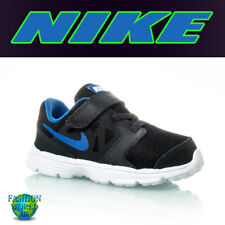 Nike Boy's Size 4C Downshifter 6 (TD) Toddler Shoes 684981 Black/Blue
