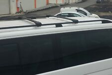 MERCEDES VITO VIANO on 2003 SWB ALUMINIUM LOCKABLE ROOF RAILS & CROSS BARS BLACK