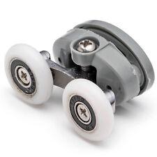 Twin Top Butterfly Shower Door Rollers /Runners 23mm wheels diameter L056