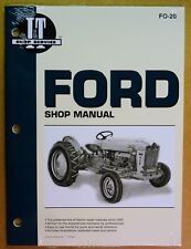 New Ford Shop Manual for Tractors 500 600 601 700 701 800 801 900 901 #FO-20