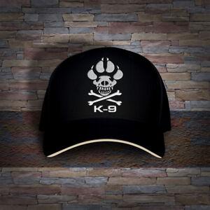 K-9 Canine Unit Police Dog Logo Embro Cap Hat