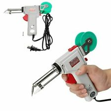 Automatic Soldering Iron Heating Gun Send Tin Electric 220V 200-450 Degree Heat