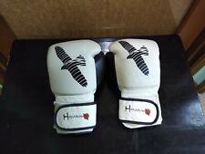 Hayabusa 16 oz Boxing Gloves. Black And White. Very Good. ChuckBooks🦈 Leather