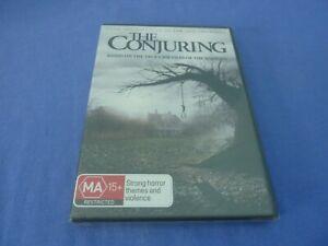 The Conjuring DVD Vera Farmiga Patrick Wilson R4 New Sealed Free Postage