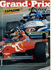 GRAND PRIX INTERNATIONAL n°47 GP BELGIQUE 1982