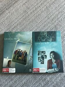Love My Way Season 2 + 3 DVD - As New