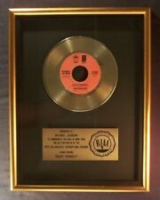 The Jacksons Enjoy Yourself  45 Gold RIAA Record Award Epic Records To Michael