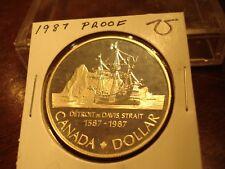 PROOF - 1987 - Canada dollar - Brilliant Uncirculated - Canadian $1