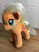 "Plush TY Sparkle Apple Jack My Little Pony 7"" High Fab Fun Gift For Any Occasion"