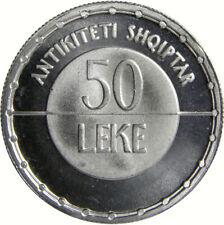 """50 Lek , Albanian Coins """"Republika e Shqipërisë"""" (Republic of Albania)"""
