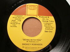 SMOKEY ROBINSON - Being With You / What's In Your Life     TAMLA 45rpm