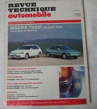 Revue technique automobile RTA 552 1993 Mazda 323 essence & diesel depuis 1989