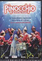 Dvd + Libretto POOH - PINOCCHIO - IL GRANDE MUSICAL Manuel Frattini / Rancia new