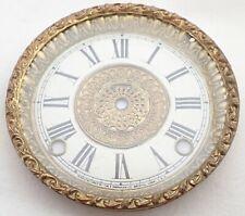 Antique Ingraham Mantel Shelf Clock Dial Bezel Parts Repair