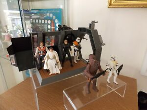 star wars figures death star diorama escape with luke leia and more by kenner