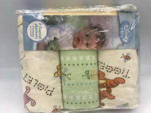 Disney Winnie The Pooh Flannel Blanket, 3-Pack Discontinued