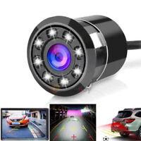 LED 170° CCD Waterproof Night Vision Car Rear View Reverse Backup Parking Camera
