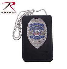 Leather Neck ID Badge Holder Universal