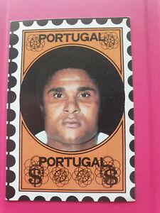 FOOTBALL : 1972 VANDERHOUT trade card sticker EUSEBIO  Portugal