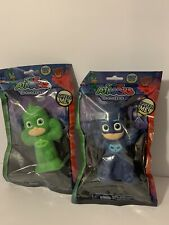 Pj Masks Squeezies 5.5 inch Figure Brand New In Packaging Cat and Gecko